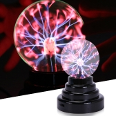 "3"" USB Magic Table Nebula Crystal Plasma Ball Electrostatic Sphere Lamp"