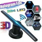 3D Holographic Projector Advertising Display Fan Projection Display Machine with WiFi Function