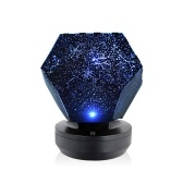 Romantic LED Starry Night Lamp 3D Star Projector Light Bedroom Constellation Projector Home Planetarium