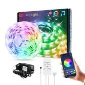 Набор светодиодных лент Музыка USB RGB Гибкое светодиодное тросовое освещение с 44-клавишным ИК-пультом