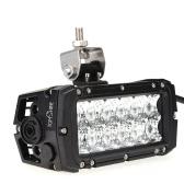 Tomshine 36W 12 diod LED 2520LM DC10-30V bar światła terenowego IP65 wodoszczelna wiązka punktowa do samochodu Jeep SUV samochód ciężarowy ciągnik siodłowy