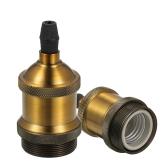 Tomshine 6pcs E26 Retro Vintage Medal Shell Bulb Base Подставка для держателя лампы