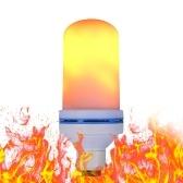 AC220V 7W 108 LED Flame Flickering Effect Прожекторная лампа с USB-зарядным портом