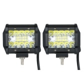 2pcs 60W 6000K Car Work Light Bar Driving Headlight Lighting