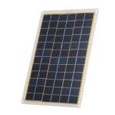 DC5V/DC18V 15W Portable Solar Power Energy Charging Panel USB Interface IP65 Water Resistance Necessities for Outdoor Camping Hiking Climbing