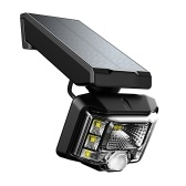 8 LEDs Solar Powered Wall Mounted Spotlight 360° Adjustable Wirelessly Motion Sensor Secure Lamp