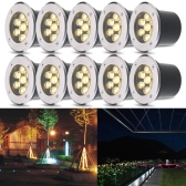 Tomshine 3W 300LM Warm White LED Underground Light Lamp