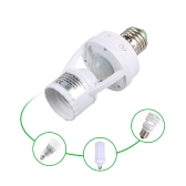 E27 sensible PIR Motion Sensor LED ampoule support de lampe base de douille