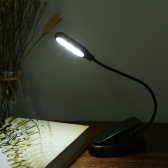 5 светодиодов 2 световых цвета 3 режима освещения Настольная лампа для настольных ламп с зажимной скобой