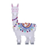 Led Night Light 6LED Cute Alpaca Shape Декоративный ночник Ночник Настольный прикроватный светильник