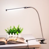 10W Eye Protection LED Clamp Clip Light Table Desk Reading Lamp
