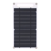 7.8W przenośna cienka monokrystaliczna krzemowa bateria słoneczna