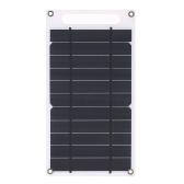 7.8W tragbare ultra dünne monokristalline Silikon-Sonnenkollektor-Aufladeeinheit