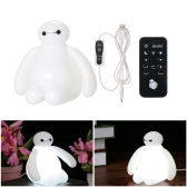 Big Hero Baymax Design USB LED Luz de noche