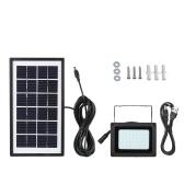 54LEDs USB солнечной энергии ручной / Light Control Flood Открытый свет