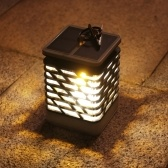 9 LEDs Solar Power Energy Dancing Flackernde Kerze Visual Effect Lampe