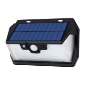 USB Rechargeable 53 LEDs Solar Power Remote Sensing Wall Lights