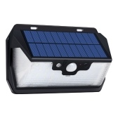USB recargable 53 LED luces de pared de detección remota de energía solar