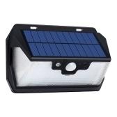 USB wiederaufladbare 53 LEDs Solar Power Remote Sensing Wandleuchten