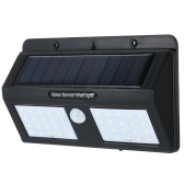 6W 40LEDs Solar Powered PIR Sensor de movimiento de pared de luz