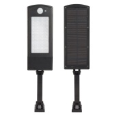 6V 20W 48LED Adjustable Solar Wall Light Outdoor PIR Motion Sensor Solar-powered Lamp