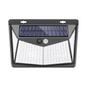 208LED Солнечный Свет Настенный Светильник PIR Motion Sensor Light IP65 водостойкий Наружное Освещение Свет Безопасности для Путь Двор Сад Двор