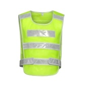 Safety Reflective Vest for Running Jogging Cycling Stay Visible Motorcycle Reflective Vest Adjustable Vest