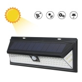 Solar Powered 90 LED Motion Sensor Wall Light Waterproof Security Lamp