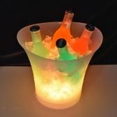 5L 7 цветов Светодиодный свет Ice Bucket Шампанское Винные напитки Пиво Ice Cooler Bar Party