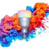 Yeelight 1SE E27 AC100-240V 6W RGBW Intelligent LEDs Light Bulb Versão colorida de luz (Produto do ecossistema Xiaomi)