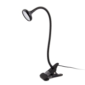3W LED Eye Protection Clamp Clip Lampe de bureau Lampe de bureau Ultra Lumineux Bendable USB Alimenté Flexible pour Lecture Travaillant Étudiant