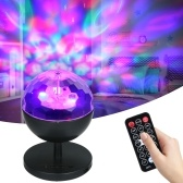LEDs Sternenprojektorlicht BT Music Speaker Player RGB-Projektor DJ Party Lampe mit Fernbedienung