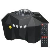 3 en 1 Fantasy A-urora Star Projector Light Moon Lámpara de noche estrellada con controlador