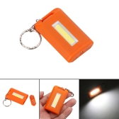 Portable COB Mini Keychain Flashlight