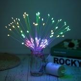 Luces de cuerda decorativas 120LEDs Luces de forma de Bouquet Luces de hadas