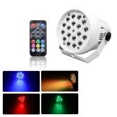 20WステージライトランプDMX照明器具自動実行/音作動/フラッシュ効果ステージランプ