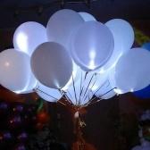 5 шт. Светодиоды загораются воздушный шар светящийся шар для вечеринки, дня рождения, свадьбы, фестиваля украшения (освещение RGB)