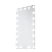 21LEDs 7.8in USB espejo de vanidad recargable con control táctil sensible