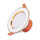 Downlight-Deckeneinbauleuchte AC85-265V 5W LED mit runder Decke