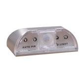 Lámpara de gabinete de noche 4LED PIR Motion S-ensor con control de luz sensible 1 * AA alimentada por celda para pasillo de camino