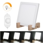 5W Happy Energy Light Natural Sunlight Simulation Portable Daylight Dimmable Light 10000 Lux Adjustable with Wooden Stand