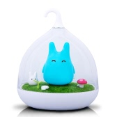 Creative Micro Landscape Night Lamp Cute Portable Lights For Bedroom Baby Sleep Vibration Dimmer Touch Sensor Home Decors Atmosphere Light Yellow