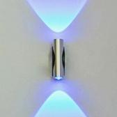 LED Lámpara de pared Iluminación a dos caras 176-265V Apliques de pared para interiores Luces exteriores de aluminio