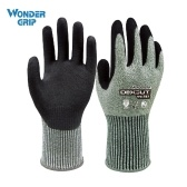 Wonder Grip Level 5 HPPE Cut-resistant Gloves Gardening Safety Glove Level 4 Abrasion-proof Universal Working Gloves