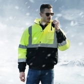 SFVest High Visibility Reflective Cotton Coat