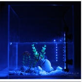 Underwater 30 LED 6.5W Aquarium Fish Tank Garden Pool Light Suction Stick Strip Bar Colorful Lamp