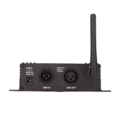 2.4G Wireless DMX 512 Controller Transmitter Receiver LCD Display Power Adjustable Repeater Lighting Controller