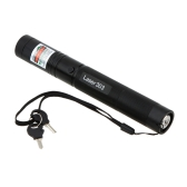 5MW Multipurpose réglable Focus Burning Match Starry Sky Green Laser Pen
