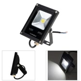 Lixada 10W IP65 Ultracienki z czarnego aluminium LED Flood Light