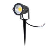 6W 12V AC DC IP65 schwarz Aluminium Rasen LED Spot Licht Lampe High-Power RGB Warm/Natur weiß Teich Garten Pfad CE RoHs